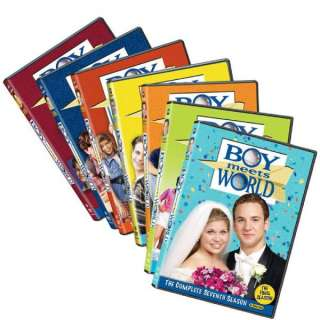 Boy Meets World The Complete DVD Series (Seasons 1 7 Bundle) 1 2 3 4