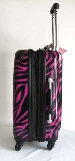 Piece Luggage Set Hard Rolling 4 Wheels Spinner Black