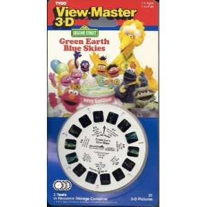 Street Green Earth Blue Skies View Master 3D 3 Reel Set Toys & Games