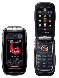 Motorola V860 Barrage Bluetooth GPS Phone Verizon